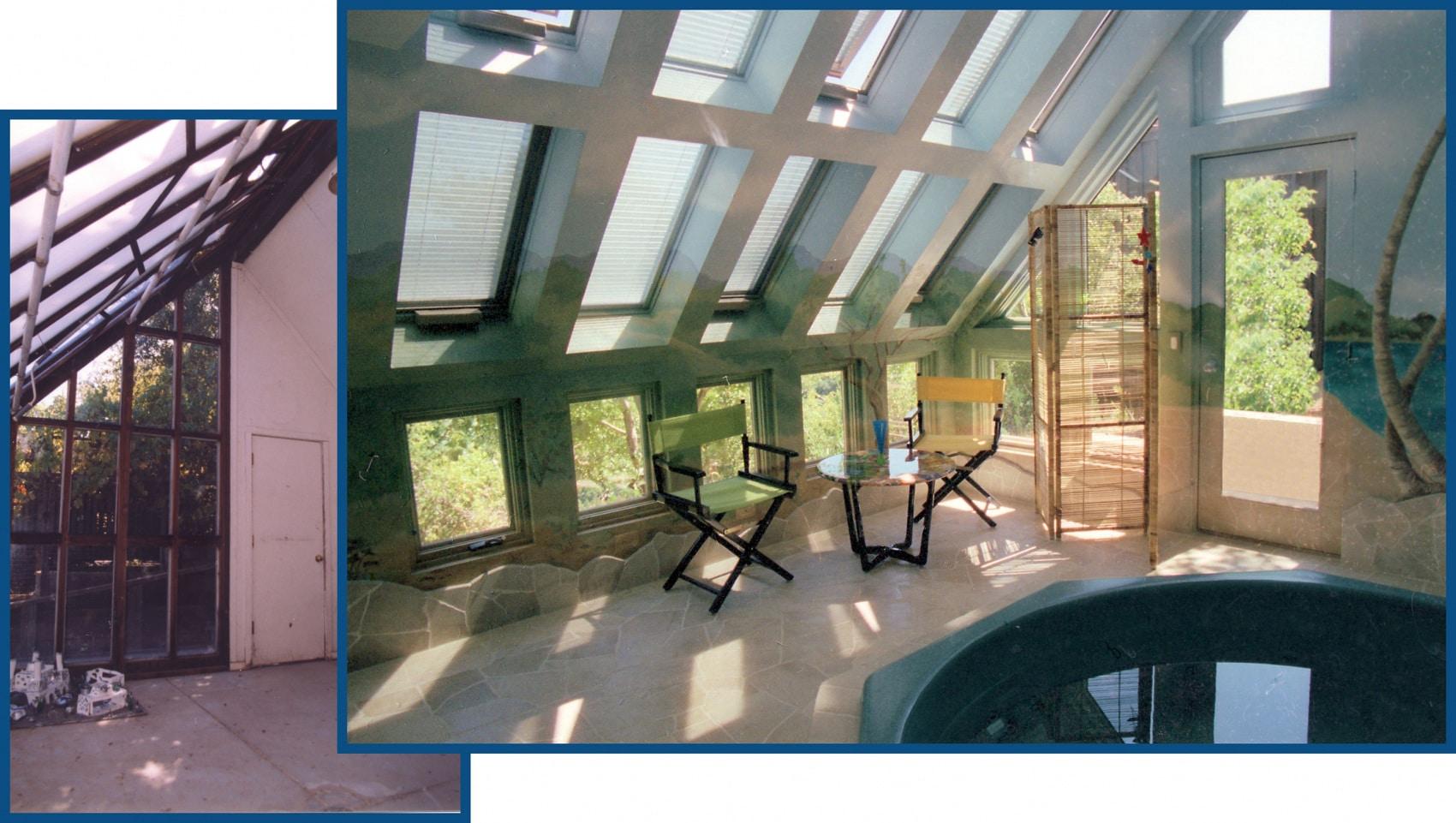 Portola Valley Hot Tub Room