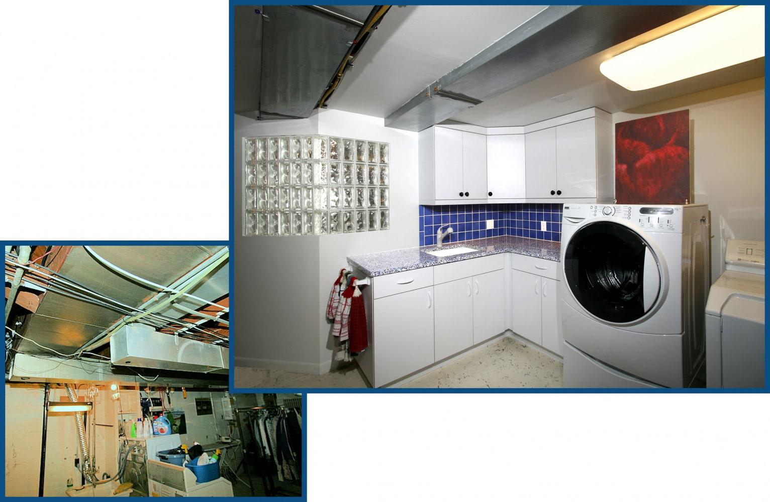 Portland Laundry Room Design