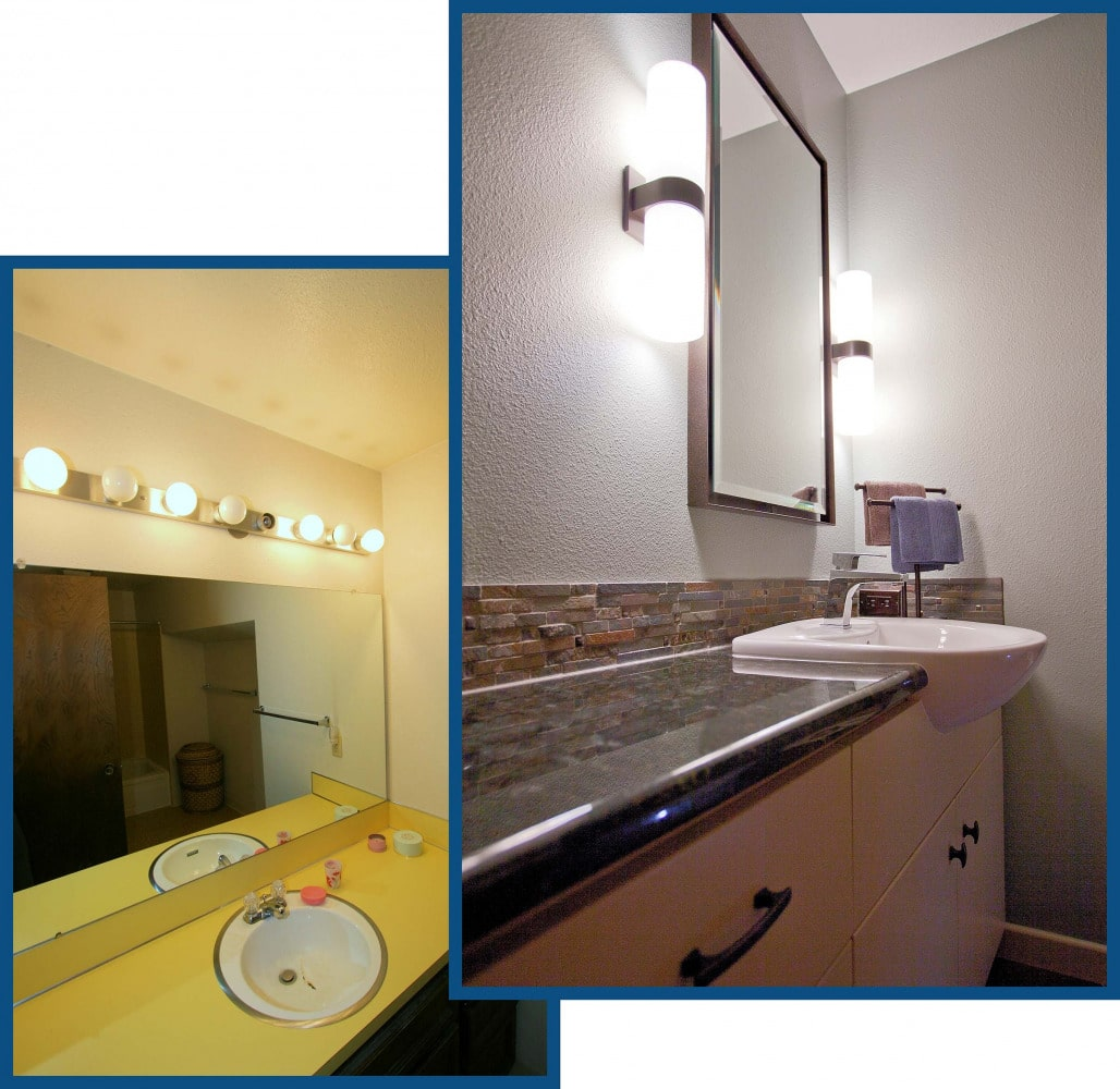 West Linn Guest Bathroom Remodel Before and After