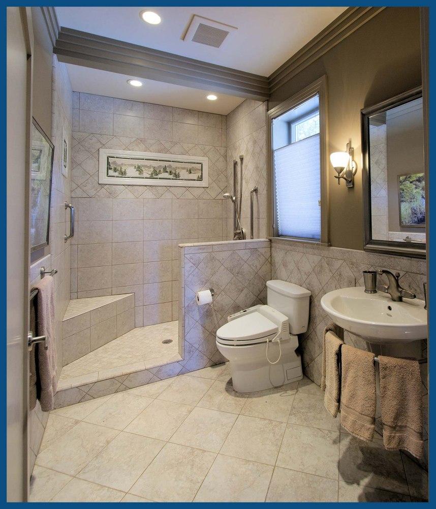 Oregon City Guest 2nd Upstairs Bathroom Design