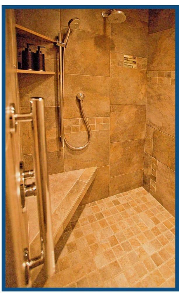 West Linn Master Shower Design