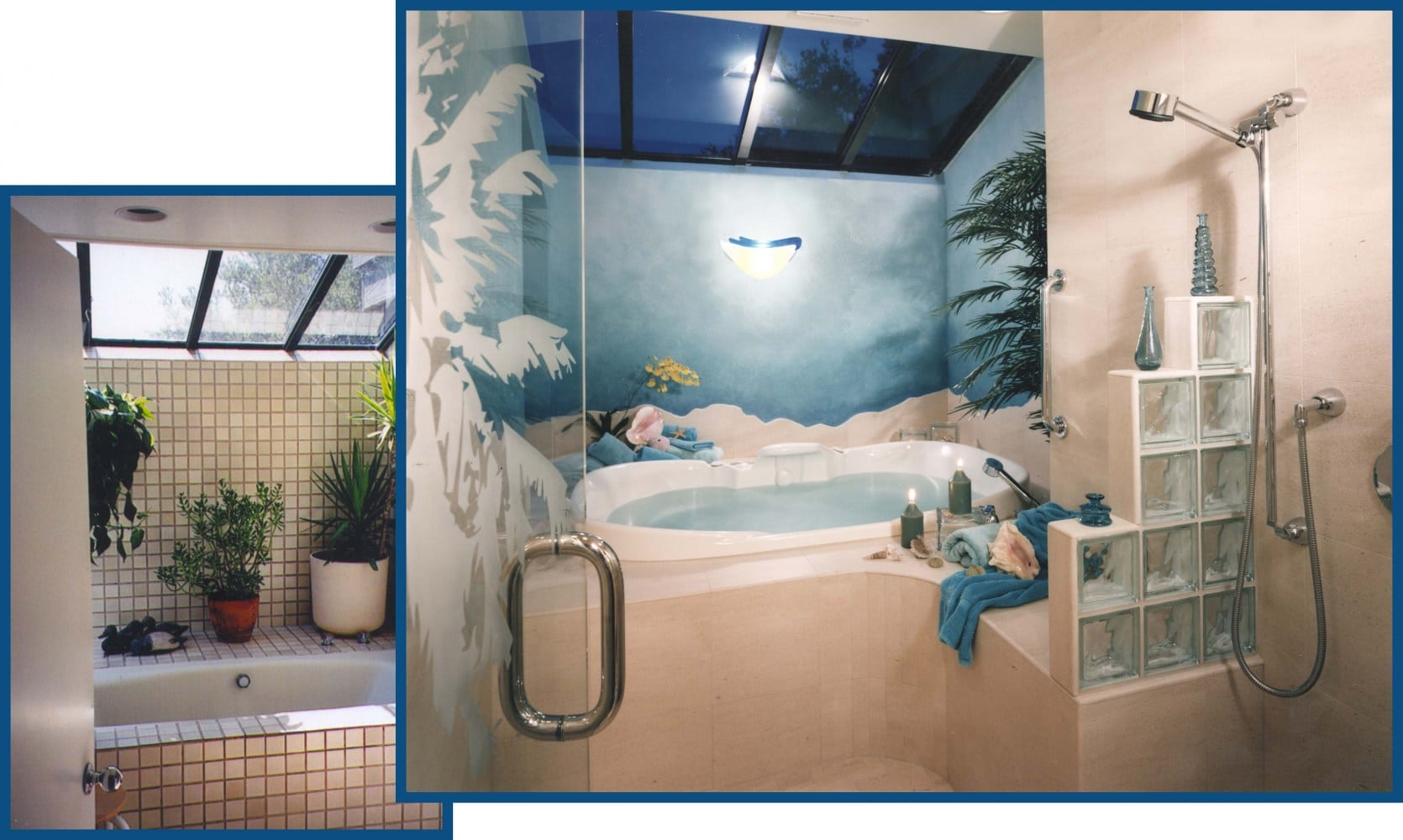 Portola Valley Tub Shower Redesign Before and After