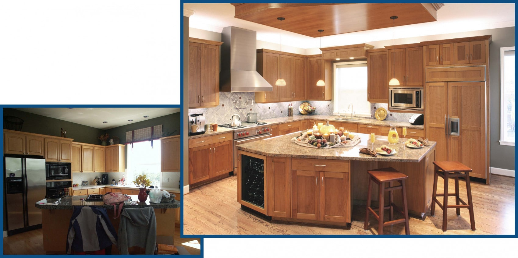 Northwest Portland Kitchen Remodel Before and After