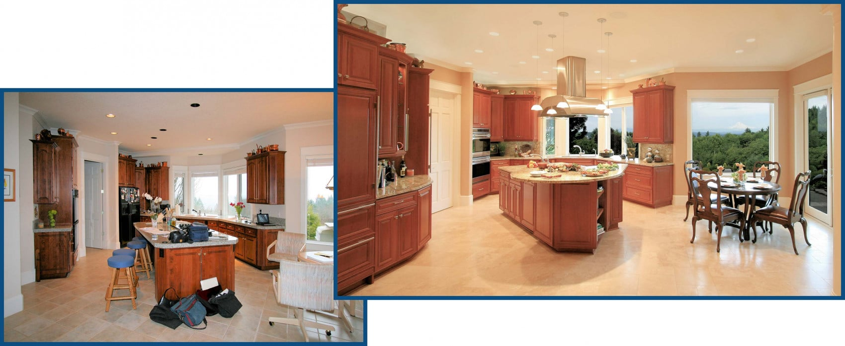 West Linn Kitchen Before and After