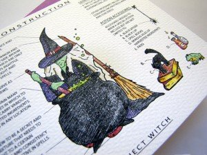 Trick or Treat Construction Witch