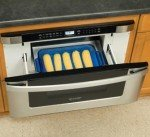 Microwave oven drawer is popular, but functional use is limited
