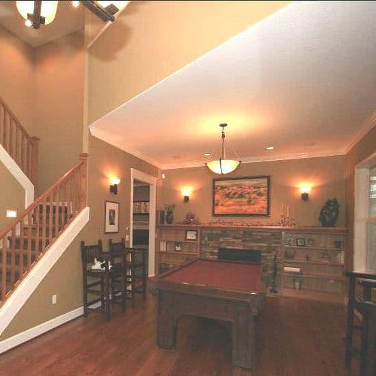 "Craftsman-Style ""Pub"" Living Room"