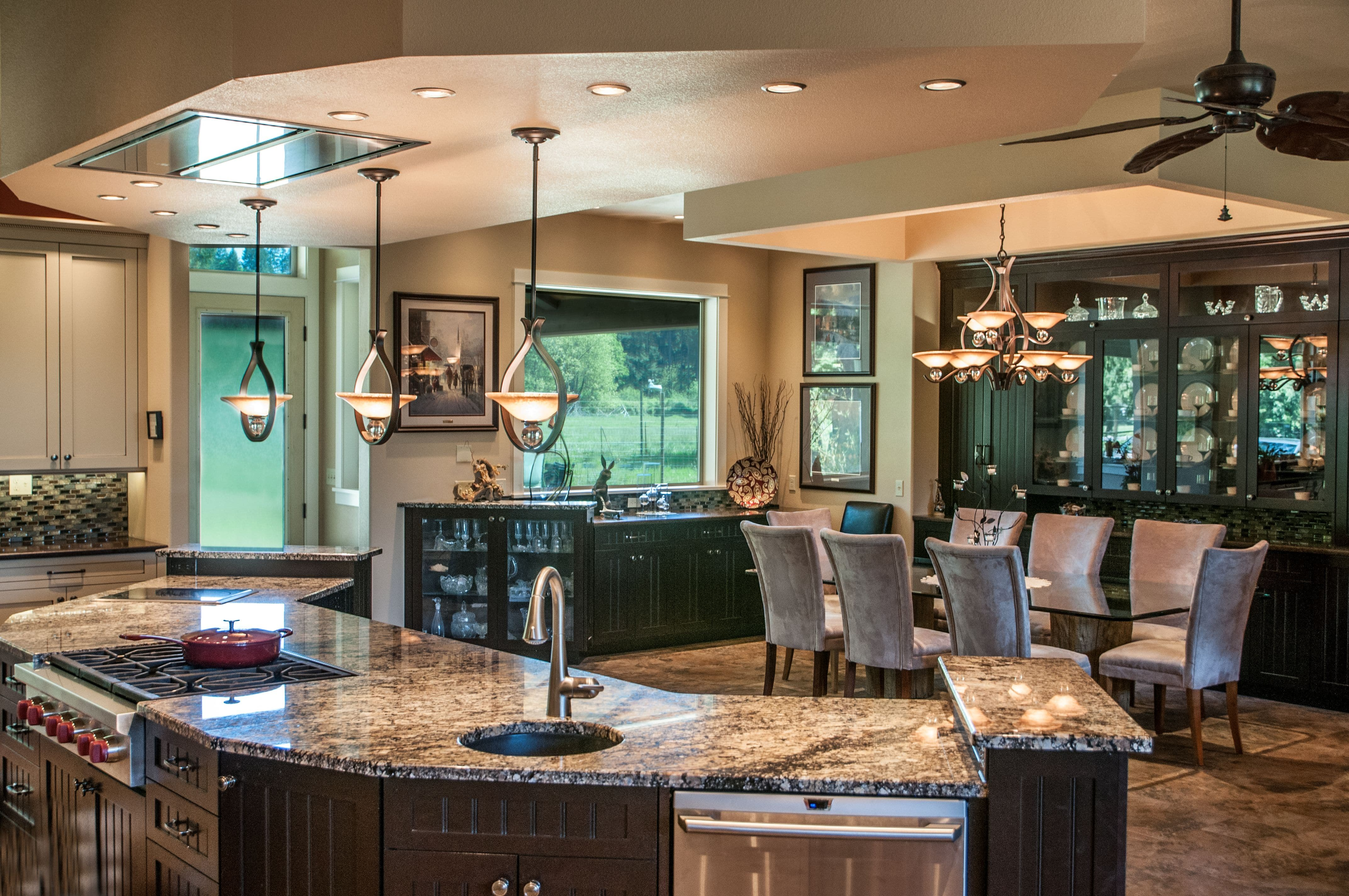 Testimonial about Great Room Kitchen and Dining Room