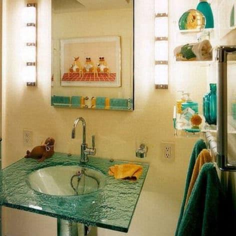 CONTEMPORARY SEASHORE BATHROOM