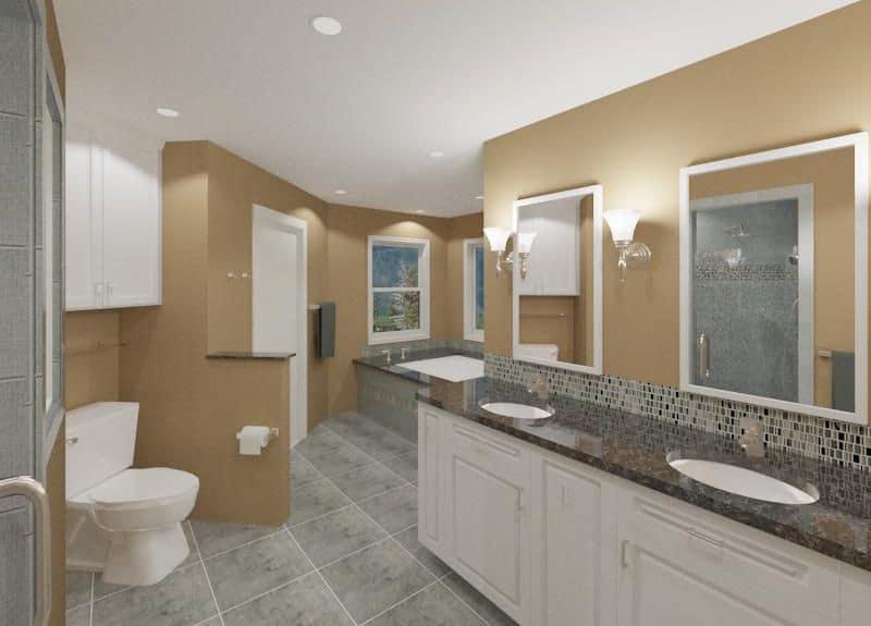 Testimonial about Virtual-Reality Proposed Bathroom