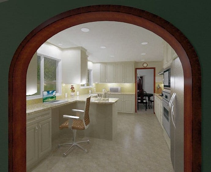 Testimonial about Virtual Reality Perspective of Proposed Kitchen