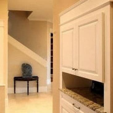 Remodeled Rear Hallway for Better Function