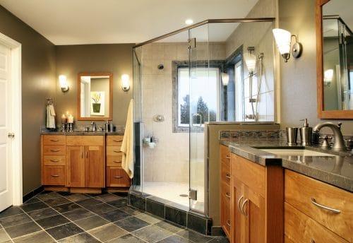 NW Portland Remodeled Craftsman Bathroom