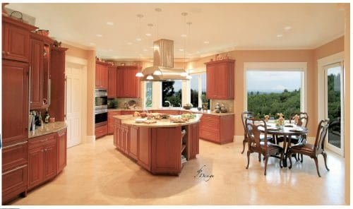 West Linn Remodeled Kitchen Lighting