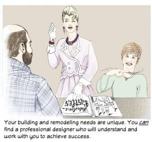 A professional designer is easy to find!