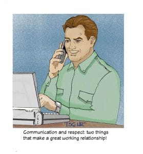 Contractors need Communication and Respect, too!