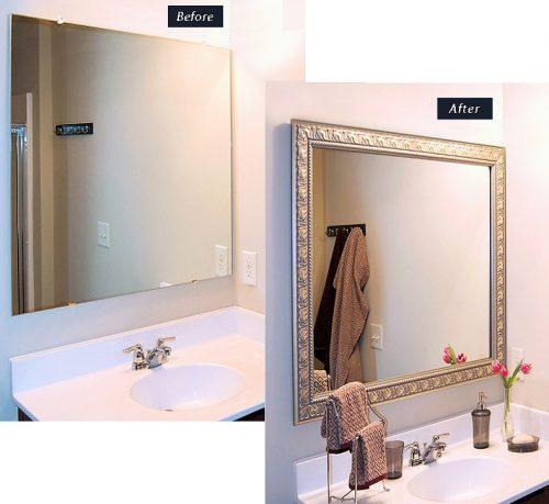 Great Bathroom Mirror Frames