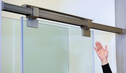 Magnetic Gliding Shower Door