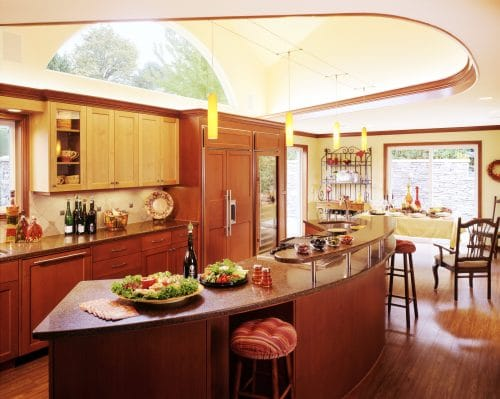 Award-winning kitchen with many essential details