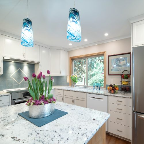 Designer Fee for remodeled kitchen in Oregon City was $5,805