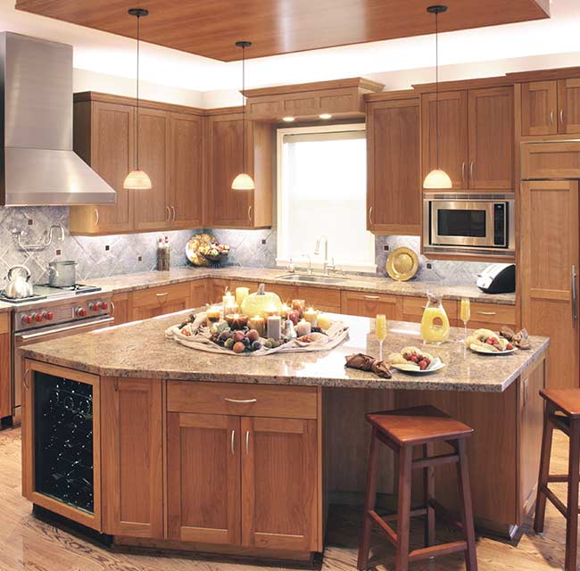 Craftsman Contemporary Kitchen