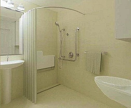 remodel a powder room to create a full bathroom in my home
