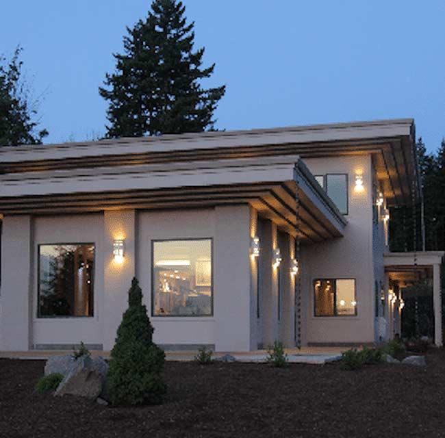 New-Retro Modern Art Deco Home Construction