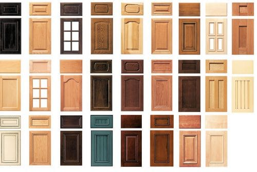 Cabinet styles and colors can be confusing
