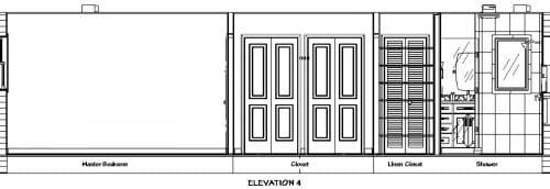 Bathroom Elevation 4