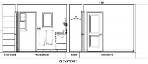 Bathroom Elevation 5