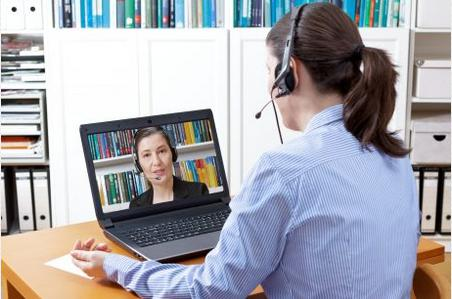 Virtual meeting with homeowner to discuss goals