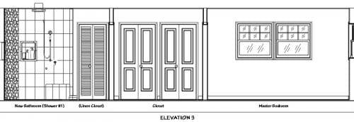 Bathroom Elevation 3