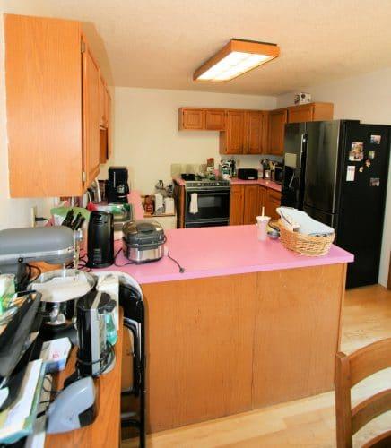 Cluttered kitchen is major frustration