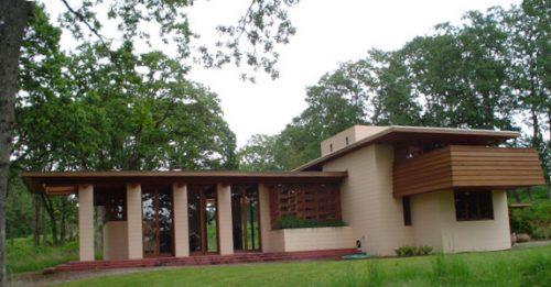 Lifelong interest in architecture - Frank Lloyd Wright
