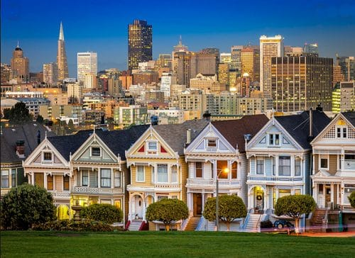 Lifelong interest in architecture - San Francisco